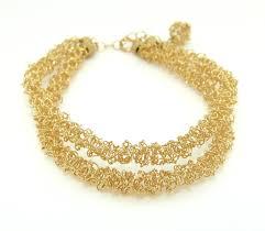 double gold bracelet images Double strand gold filled bracelet contemporary bracelets by jpg