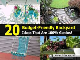 Ideas For Landscaping Backyard On A Budget 20 Budget Friendly Backyard Ideas That Are 100 Genius