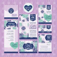 Wedding Invitation Cards Download Free Wedding Invitations Cards With Floral Ornament Vector Image