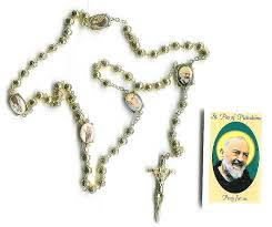 italian rosary free catholic gifts from italy with padre pio italian rosaries