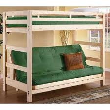 Twin Bunk Bed Over Futon Sofa Roselawnlutheran - Twin over futon bunk bed with mattress