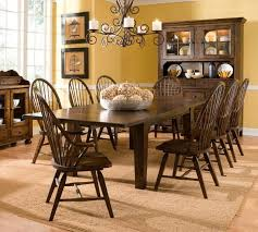 broyhill dining room sets attic heirlooms oak 7 set broyhill furniture kitchen