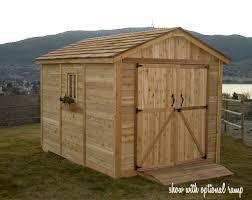 100 outdoor storage building plans lifetime outdoor storage