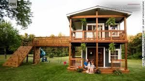 a dream house dad builds daughters a dream house cnn video