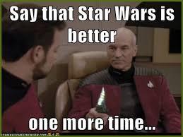 Meme Generator Star Trek - bald men from star trek meme generator hair and no hair