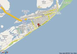 map of galveston map of galveston island resort galveston