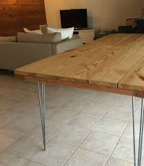 dining room wood slab dining table diy how to build a dining