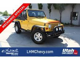 jeep wrangler for sale utah used jeep wrangler 8 000 in utah for sale used cars on