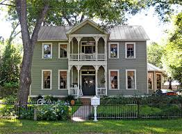greek revival style house holiday historical homes tours in bastrop texas