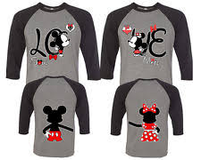 His And Hers Items Disney Couple Shirts Ebay