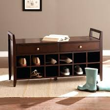 Bedroom Bench With Storage Wooden Bench With Shoe Storage U2014 Derektime Design Making Bench