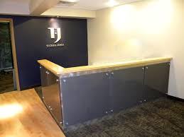 Build Reception Desk Tucker Jones Engineers Building Services Id Project