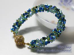 bead tutorials crystal bracelet images Bee jang 39 s beautiful crystal beaded jewelry tutorials the jpg