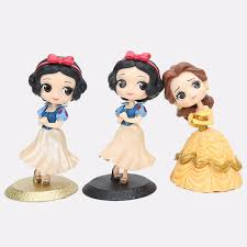 Q Posket Snow White Princess Doll Snow White Princess Belle Pvc