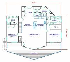 floor plans for lakefront homes grand lake house plan by hilltop log timber homes