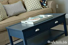 crafty teacher lady coffee table makeover