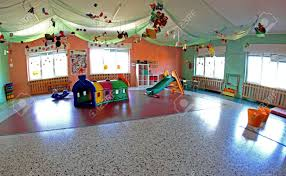 spacious lounge important nursery center with many christmas