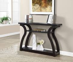 Console Table Used As Dining Table Amazon Com Monarch Hall Console Accent Table 47