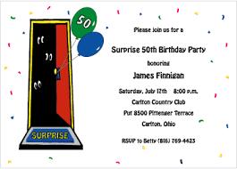 50th birthday party invitation templates dolanpedia invitations