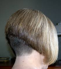 hairstyle wedge at back bangs at side dorothy hammil style wedge cut clippered close and high up the