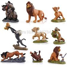 lion king cake toppers free shipping new 9pcs the lion king cake topper simba nala scar