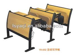 university desks and chairs with folded writing pad ya 002 buy