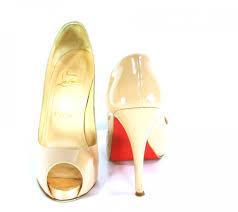 something old christian louboutin wedding heels
