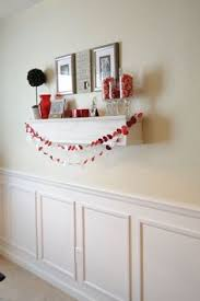Inexpensive Wainscoting This Is Faux Wainscoting Done In A Few Hours And At A Cost Of 35