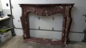 cast concrete fireplace mantel youtube