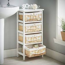 Bathroom Storage Drawers by Wicker Bathroom Storage