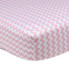 pink crib sheets from buy buy baby