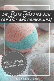 diy bath fizzies aka bath bombs a kid friendly recipe