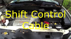 1999 lexus rx300 shift control cable replacement repair