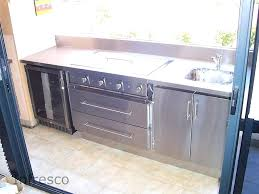 stainless steel cabinets for outdoor kitchens outdoor kitchen cabinet stainless steel metallic bronze matte