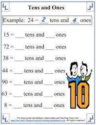 tens ones worksheet free worksheets library download and print