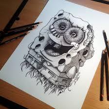sponge bob drawing by atomiccircus on deviantart draiwing