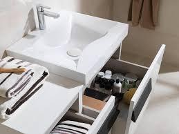 wall hung washbasin cabinet laminate contemporary with