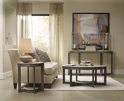 furniture living room usingdemilune table plus cozy sofa and