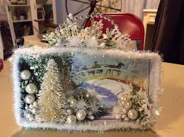 a few shadow boxes and diorama ornaments from the past week