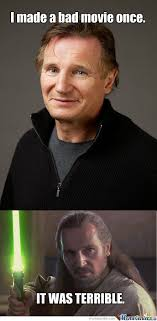 Liam Neeson Memes - liam neeson in star wars whaaaaaaat by vanillathundar meme center