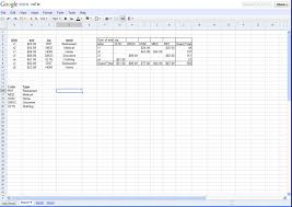 Images Of Spreadsheets A Brief Comparison Of Online Spreadsheets And The Winner Is U2026zoho