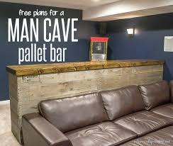 cave wood pallet bar free diy plans infarrantly creative