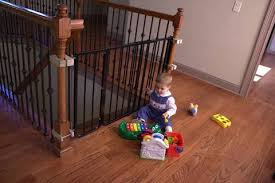 Best Gate For Top Of Stairs With Banister Baby Gates For Top Of Stairs With Banisters Metal Baby Gate For