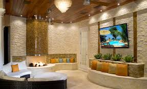 Outdoor Entertainment Center - natural stacked stone veneer fireplace stack stone veneer fireplaces