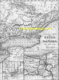 Eastern Canada Map by Upper Canada Map