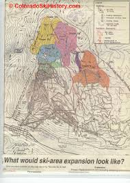 Map Of Colorado Ski Areas by The History Of Telluride Ski Area