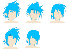 shonen hairstyle reference by spellcaster723 on deviantart