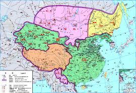 Luoyang China Map by China History Maps Bc 202 9 Western Han Xi Han Former Han