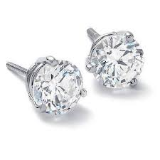 real diamond earrings for men my husband bought me diamond earrings and i made him return them