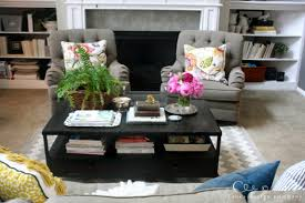 Coffee Table Decorations Decorating A Coffee Table